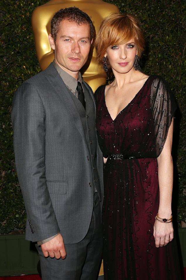 HOLLYWOOD, CA - DECEMBER 01: Actor James Badge Dale (L) and actress Kelly Reilly attend the Academy Of Motion Picture Arts And Sciences' 4th Annual Governors Awards at Hollywood and Highland on December 1, 2012 in Hollywood, California.  (Photo by Frederick M. Brown/Getty Images)