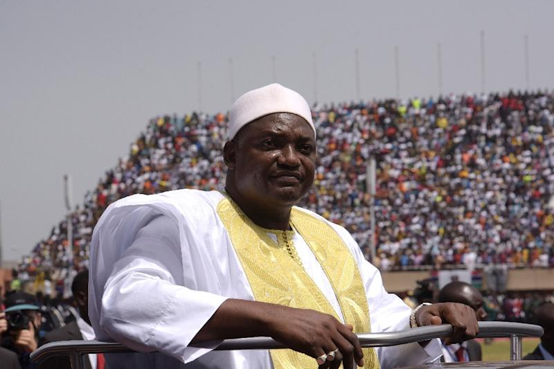 "The Gambia Press Union said President Adama Barrow should ""put words to action by publicly condemning the unwarranted conduct that threatens and dents his government's outlook as a democracy"" after an attack on a journalist by government ministers"