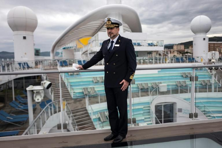 """Skipper Pietro Sinisi says the passengers are like """"family"""" for him and his crew"""