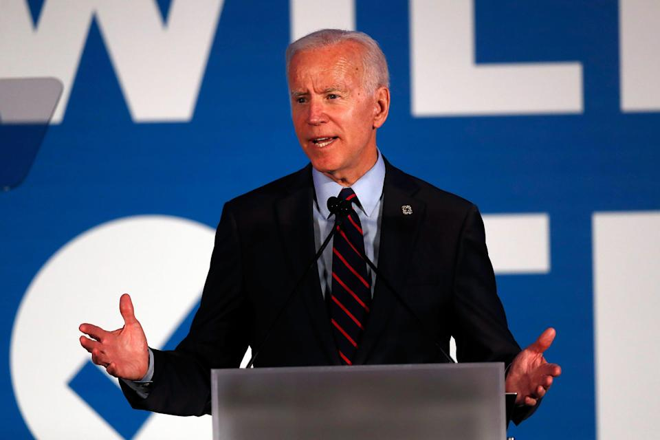 Presumptive Democratic nominee Joe Biden will address the Democratic National Convention on Thursday night.