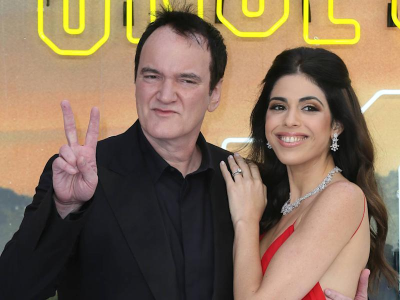 Quentin Tarantino to be a dad