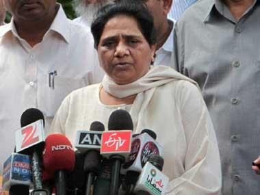 BSP chief Mayawati resigns from Rajya Sabha, says govt stopped her from expressing views
