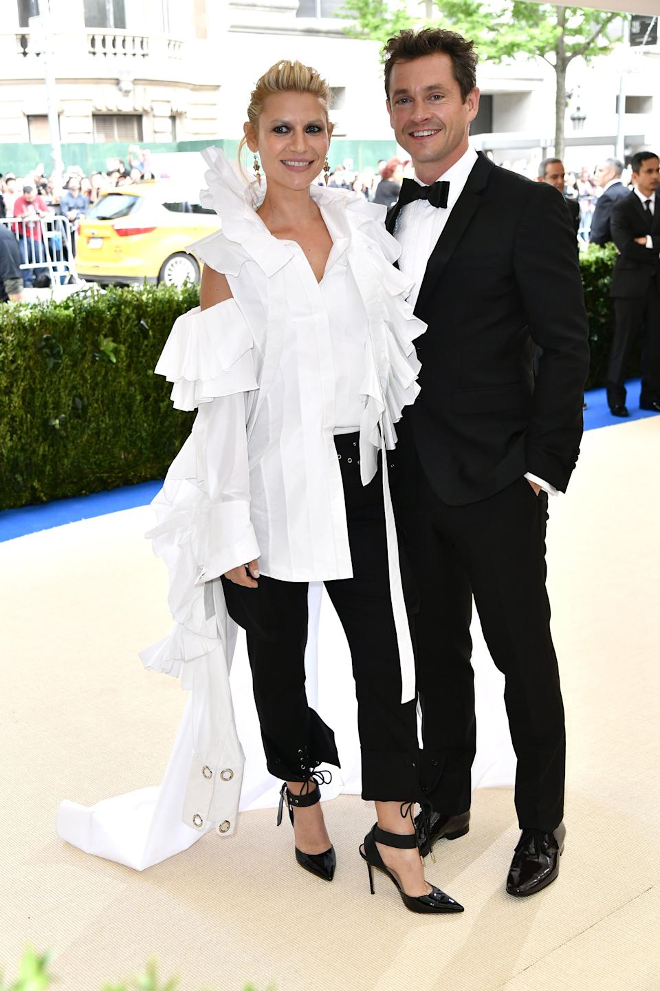 """<h1 class=""""title"""">Claire Danes in Monse and Hugh Dancy</h1><cite class=""""credit"""">Photo: Shutterstock</cite>"""