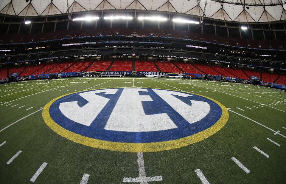 The SEC has had a tumultuous season off the field this year. (AP)
