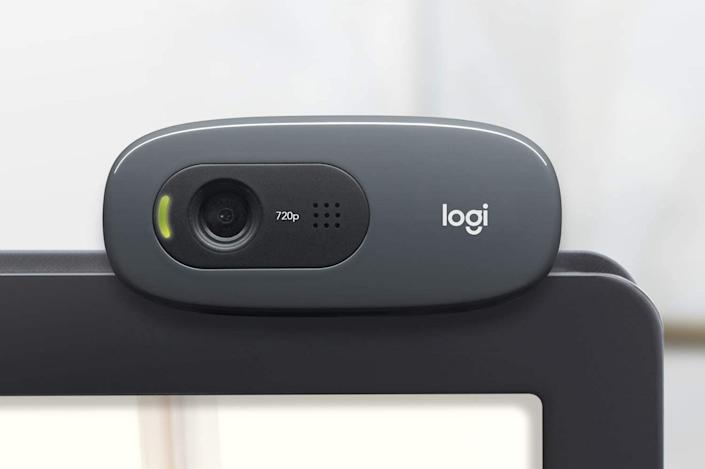 Over 8,800 shoppers gave this Logitech webcam perfect reviews. (Photo: Logitech)