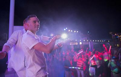 twice the fun twice the party celebrity cruises hosts second