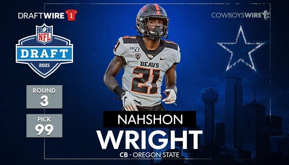 What the scouts say about Cowboys CB Nahshon Wright