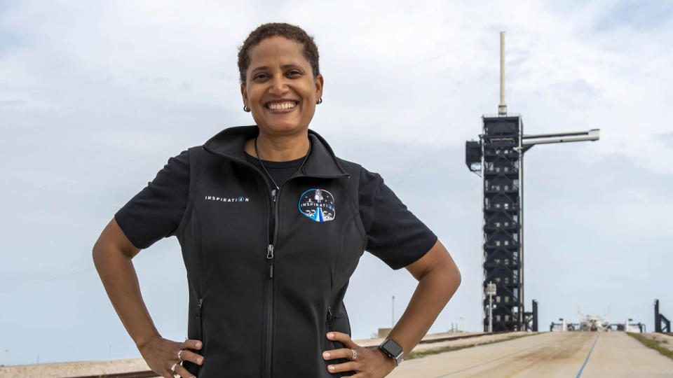 Inspiration4 Crew Prosperity - Dr. Sian Proctor - SpaceX