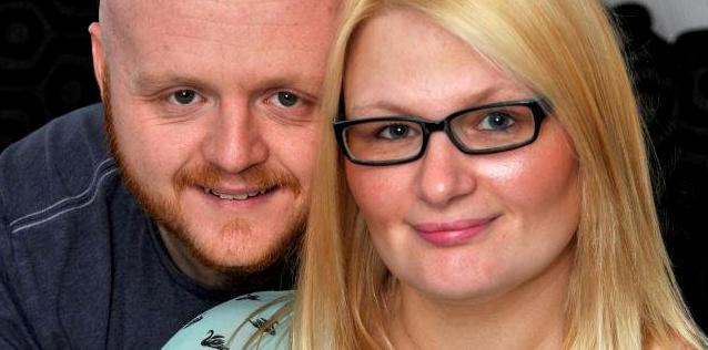 A couple have spoken about suffering 11 miscarriages in three years [Photo: SWNS]