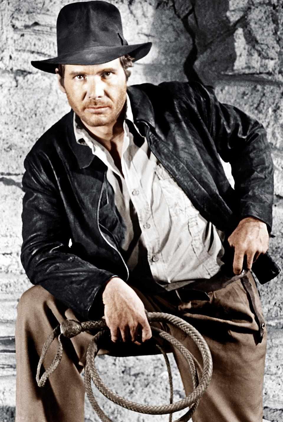 """<b>""""Raiders of the Lost Ark""""</b><br> """"I like adventure and action movies and archaeology and history,"""" said Simpkins who had a part in Steven Spielberg's """"War of the Worlds."""" He added, """"I liked Indiana Jones even before I met Mr. Spielberg."""""""
