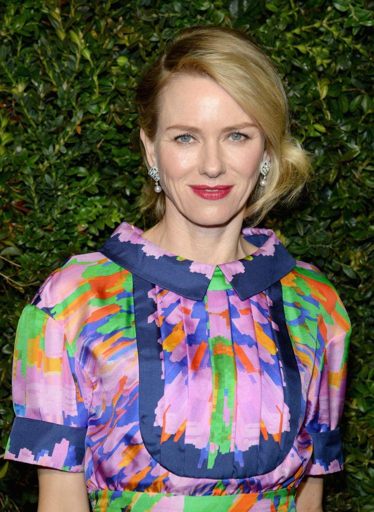 <p>Naomi Watts brings the flower power in Chanel (Photo: Getty images) </p>