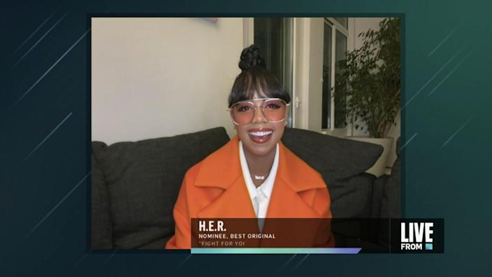 Singer-songwriter H.E.R.