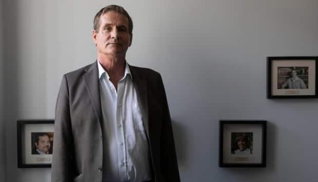 David Milgaard, who spent 23 years in prison after being wrongfully convicted of murder, is photographed after a press conference held by Innocence Canada in Toronto on Wednesday  Oct. 9, 2019.