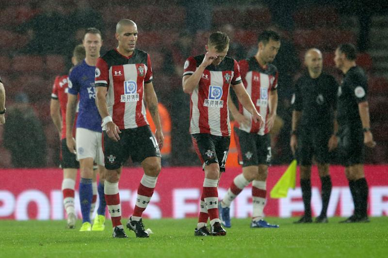 Southampton is trying to make things right with fans after a 9-0 loss to Leicester in the Premier League.(Robin Jones/Getty Images)