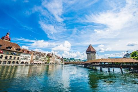 Lake Lucerne - Credit: Getty