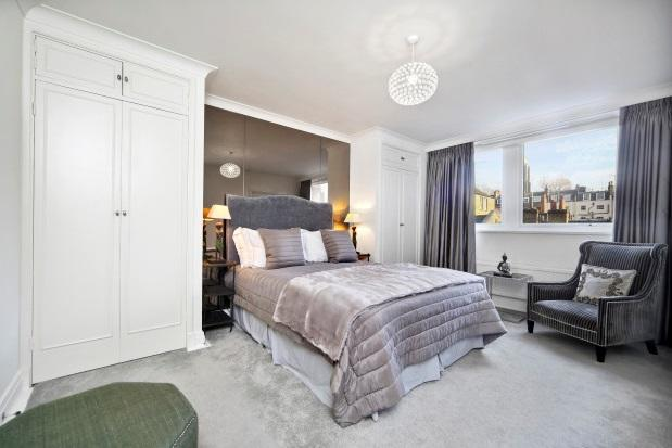 <p>The modern-day apartment features three bedrooms and two bathrooms. There's also use of a lift, porter and – a much-coveted in London – underground car parking space. </p>