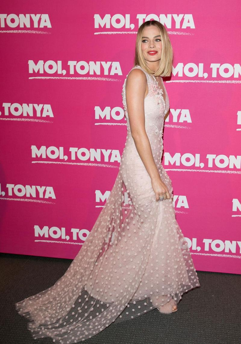 On Monday Margot attended the Paris premiere of her new film I, Tonya. Source: Getty