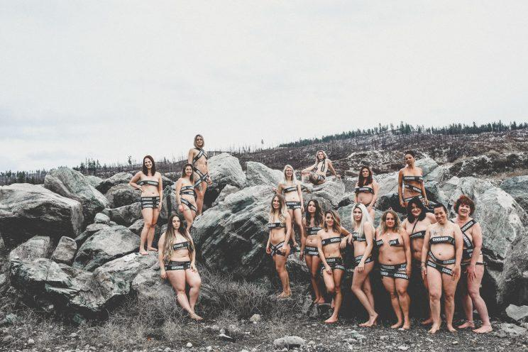 The women said the shoot made them feel liberated [Photos: Trina Cary Photography]