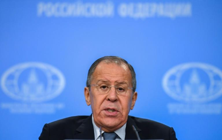 "At his annual press conference, Russian Foreign Minister Sergei Lavrov repeatedly attacked the US, accusing Washington of issuing ultimatums and failing to recognize ""the reality of the emerging multipolar world."""