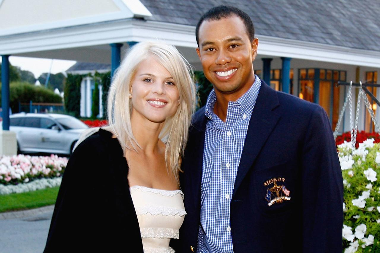 "This split is a defining one of the 2010s as it was full of scandal — and only got more and more intense as time went on. In 2010, <a href=""https://people.com/tag/tiger-woods/"">Woods</a> and Nordegren split up after it was revealed that the golfer had cheated on his wife with over one-dozen women, and the world watched as the pair eventually decided to divorce.   Woods <a href=""https://people.com/celebrity/tiger-woodss-real-apology-to-elin-will-come-from-my-behavior/"">said in a public apology</a>, ""I was unfaithful, I had affairs, I cheated. What I did is not acceptable and I am the only person to blame. I stopped living by the core values I was taught to believe in. I knew my actions were wrong but I convinced myself that normal rules didn't apply.""  The golfer, who lost endorsement deals and took a break from golf after the scandal, continued, ""I never thought about who I was hurting, instead I thought only about myself. I ran straight through the boundaries a married couple should live by.""  Woods eventually returned to golf, won three titles in 2012 and five in 2013, and regained his No. 1 ranking on the PGA Tour. He also dated Olympian Lindsey Vonn for three years before the pair <a href=""https://people.com/sports/lindsey-vonn-cheering-on-ex-tiger-woods/"">called it quits in 2015</a>. Nordegren <a href=""https://www.usmagazine.com/celebrity-moms/news/elin-nordegren-jordan-cameron-welcome-1st-child-together/"">welcomed her first child</a> with boyfriend Jordan Cameron in Oct. 2019. Woods and Nordegren continue to co-parent their two children, Charlie and Sam."