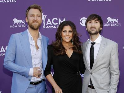 Lady Antebellum readies their performance in Louisville, Ky., to raise money for rebuilding Henryville, Ind., which was hit by two tornadoes in March. The country trio will also hold a mini-prom for about 200 students from Henryville High School. (May 16)