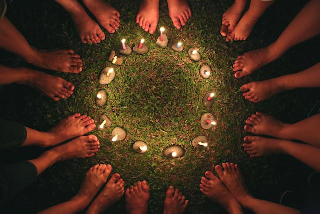 """Herbalist and educator Marysia Miernowska suggests: """"Let us let the patriarchy inside of us die, so we can be transformed into more radically loving, engaged citizens of the Earth."""""""