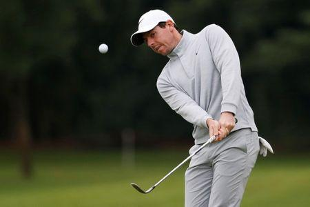 Rory McIlroy of Northern Ireland in action. REUTERS/Aly Song