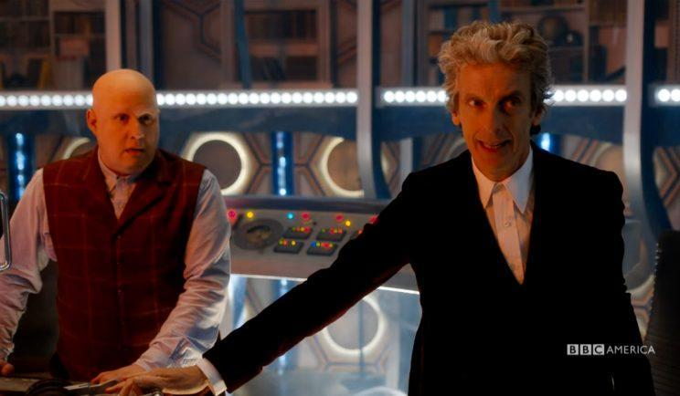 Peter Capaldi in Series 10 of Doctor Who - Credit: BBC