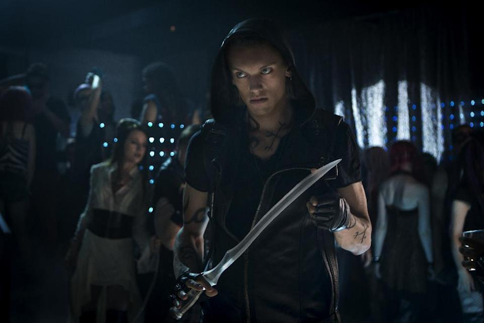 """This film image released by Screen Gems shows Jamie Campbell Bower as Shadowhunter Jace in a scene from """"The Mortal Instruments: City of Bones."""" (AP Photo/Screen Gems, Sony Pictures, Rafy)"""
