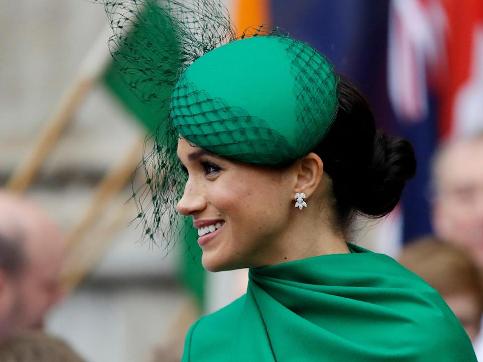 <p>Meghan wasn't quiet. She is an American. She hasn't been raised with the reverence towards the royal family us Brits have  </p> (AP)