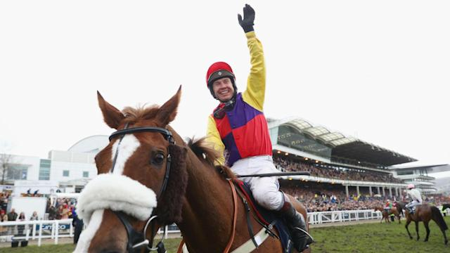 Native River, ridden by Richard Johnson and trained by Colin Tizzard, won the Cheltenham Gold Cup at 5/1.