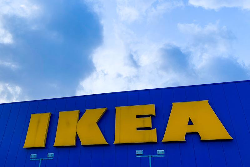 IKEA logo is seen on the store in Krakow, Poland on February 12 2020. (Photo by Jakub Porzycki/NurPhoto via Getty Images)