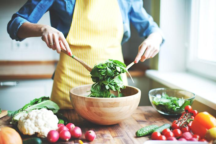 Fresh vegetables (Getty Images stock)