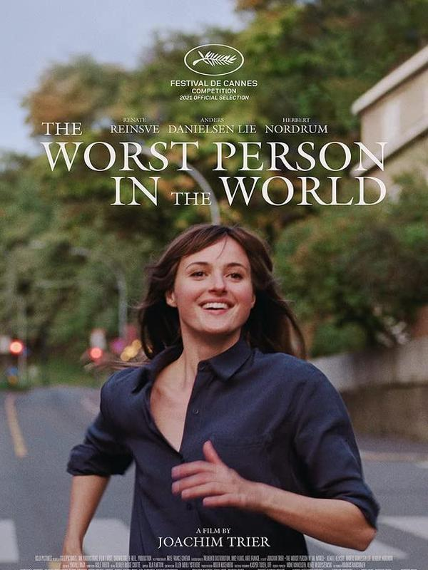 Poster film The Worst Person In The World. (Foto: Dok. Oslo Pictures/ MK Productions/ IMDb)