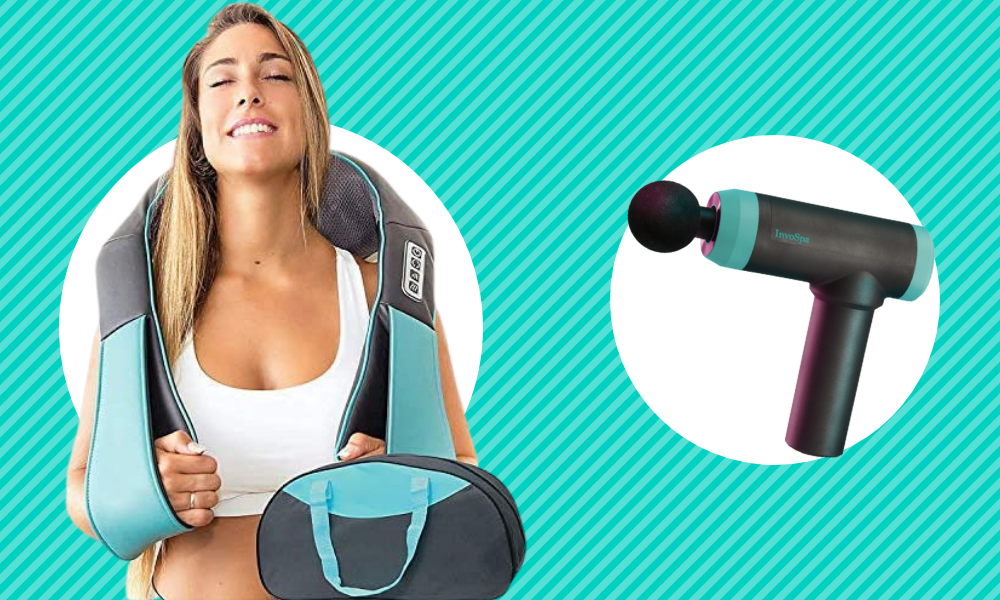 InvoSpa Massagers have rave reviews on Amazon. They're on sale and selling out fast! (Photo: Amazon)