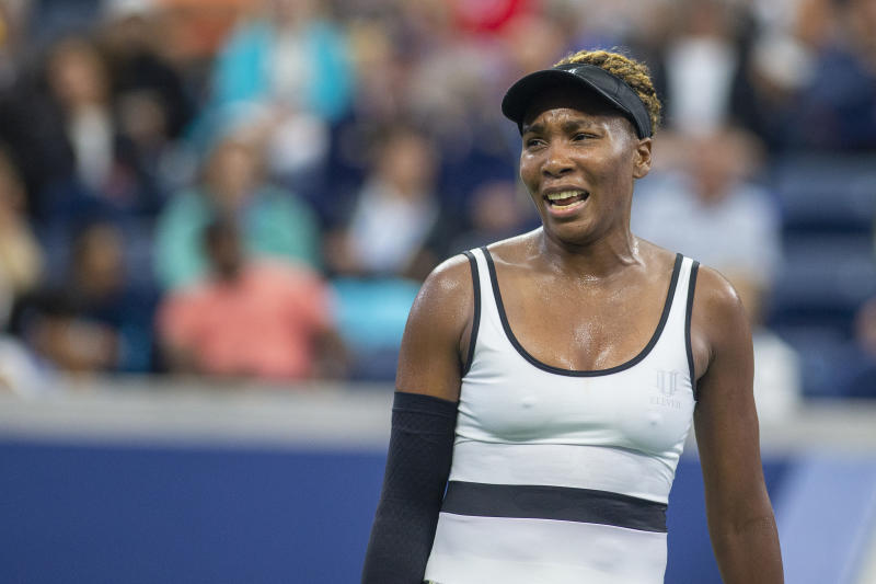 Venus Williams ordered coffee in the middle of her second round match at the US Open, but wasn't there to receive it. (Photo by Tim Clayton/Corbis via Getty Images)