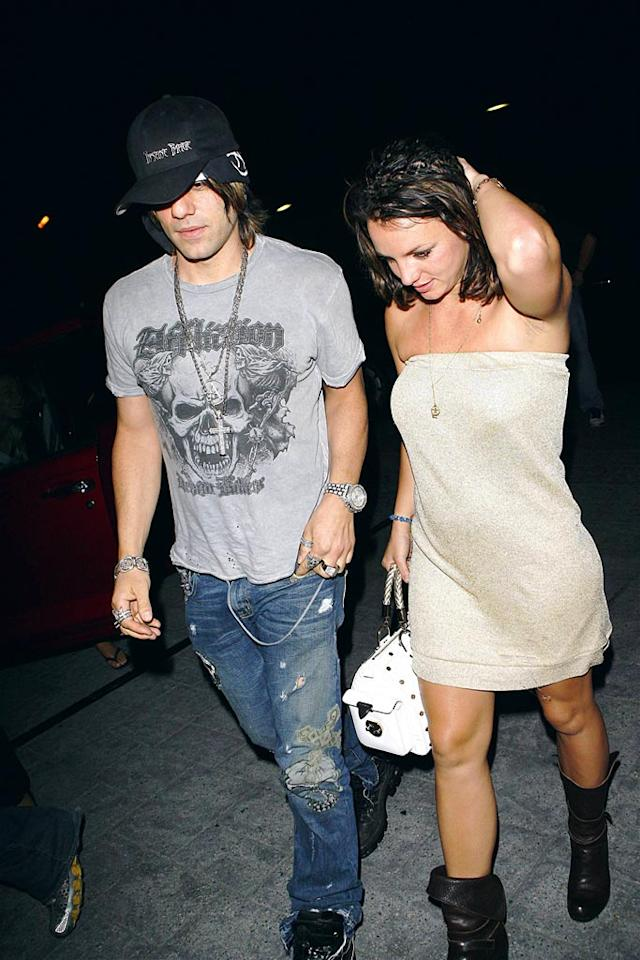 """Another pair seen out and about: Criss Angel and Britney Spears. The """"Mindfreak"""" magician denies any romantic involvement with Spears, insisting that he's working with the pop star on her upcoming MTV Video Music Awards performance. MBF-RL-Rafa-Jose/<a href=""""http://www.x17online.com"""" target=""""new"""">X17 Online</a> - August 15, 2007"""