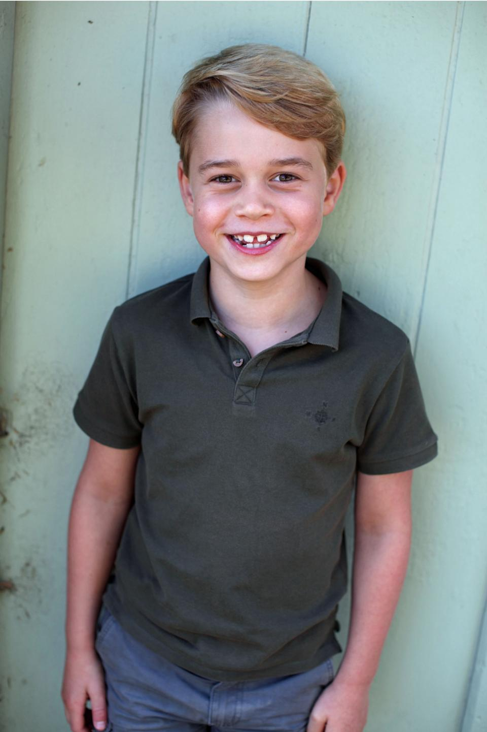 And, of course, Prince George, who turns seven on 22 July, 2020. (The Duchess of Cambridge)