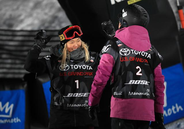 <p>She hasn't competed in an Olympic Games yet, but Kim has already been a flag bearer for the United States. For the 2016 Winter Youth Olympic Games, Kim was selected as the flag bearer for the Opening Ceremony, becoming the first snowboarder to serve as a flag bearer for either the Youth Olympic Games or the Olympic Games. </p>