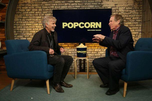 PHOTO: Billy Bob Thornton appears on 'Popcorn with Peter Travers' at ABC News studios, October 2, 2019, in New York City. (Angela Williams/ABC News)