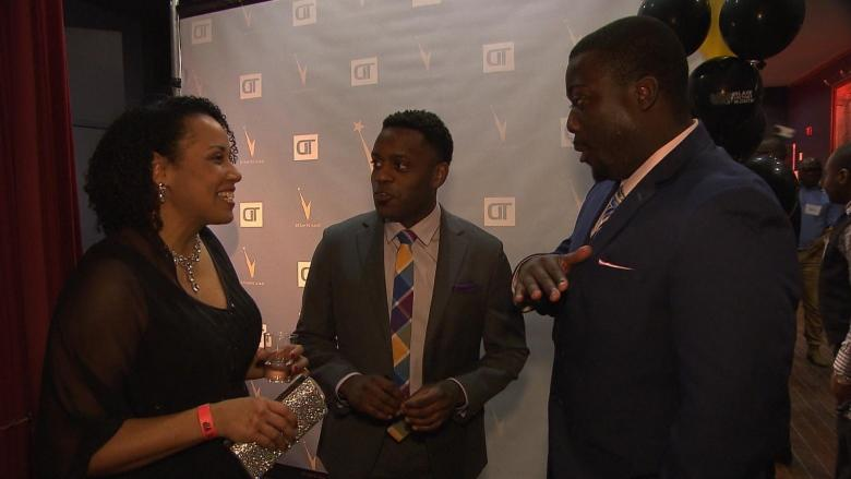 CBC Montreal's Duke Eatmon recognized at Dynastie Gala