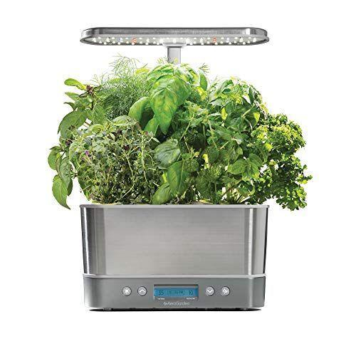 """<p><strong>AeroGarden</strong></p><p>amazon.com</p><p><strong>$167.84</strong></p><p><a href=""""https://www.amazon.com/dp/B07CKVMXHR?tag=syn-yahoo-20&ascsubtag=%5Bartid%7C10057.g.1877%5Bsrc%7Cyahoo-us"""" rel=""""nofollow noopener"""" target=""""_blank"""" data-ylk=""""slk:BUY NOW"""" class=""""link rapid-noclick-resp"""">BUY NOW </a></p><p>Another great option for gardening beginners, this garden system makes it so easy to grow up to six herbs at the same time. It even has a vacation mode setting, so your herbs will stay fresh no matter where you are. </p>"""