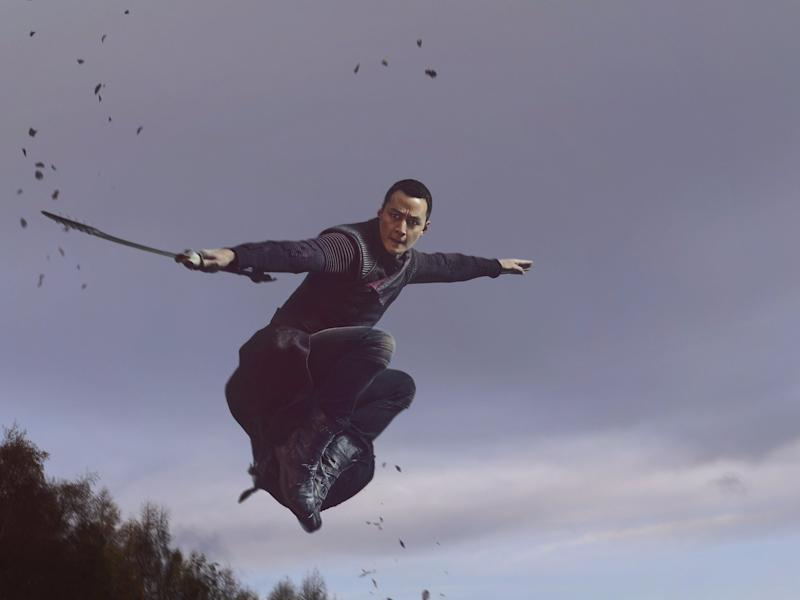 daniel wu into the badlands action season 2 amc