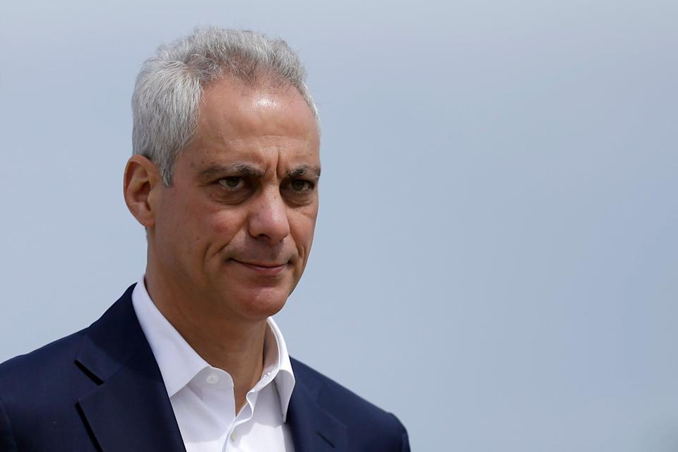 Biden Rahm Emanuel (Copyright 2019 The Associated Press. All rights reserved)