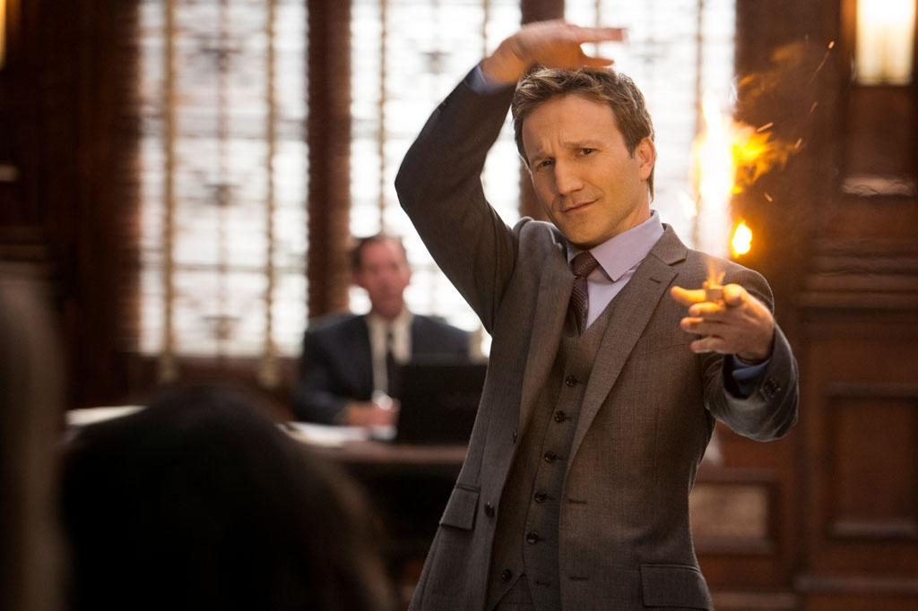 "Breckin Meyer in the ""Franklin & Bash"" Season 3 Premiere, ""Coffee and Cream."""