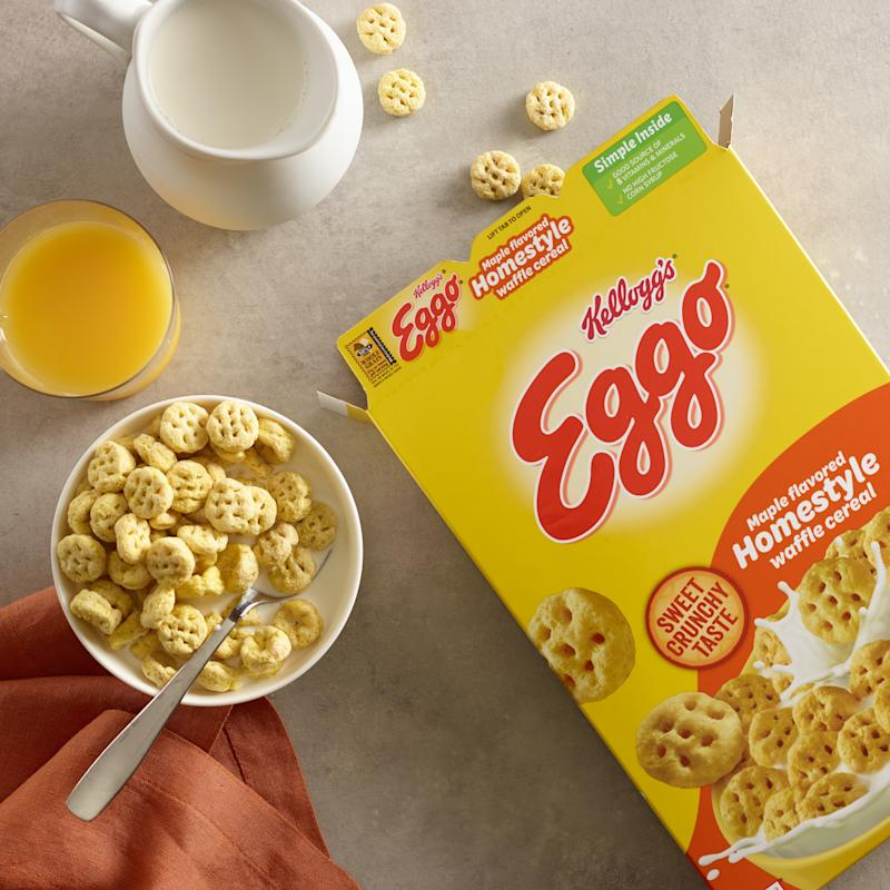 Eggo Waffles Cereal Is Here, and It Comes in Two Flavors