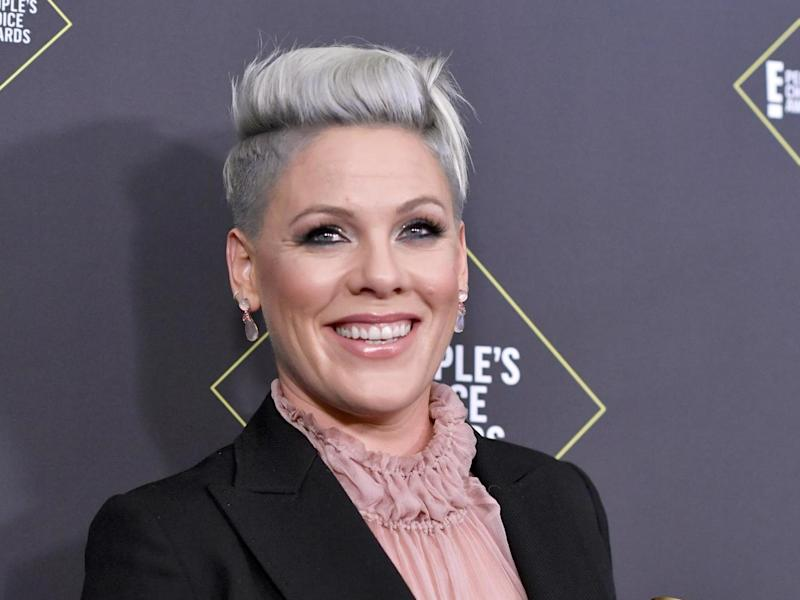 Pink in 2019: Getty Images
