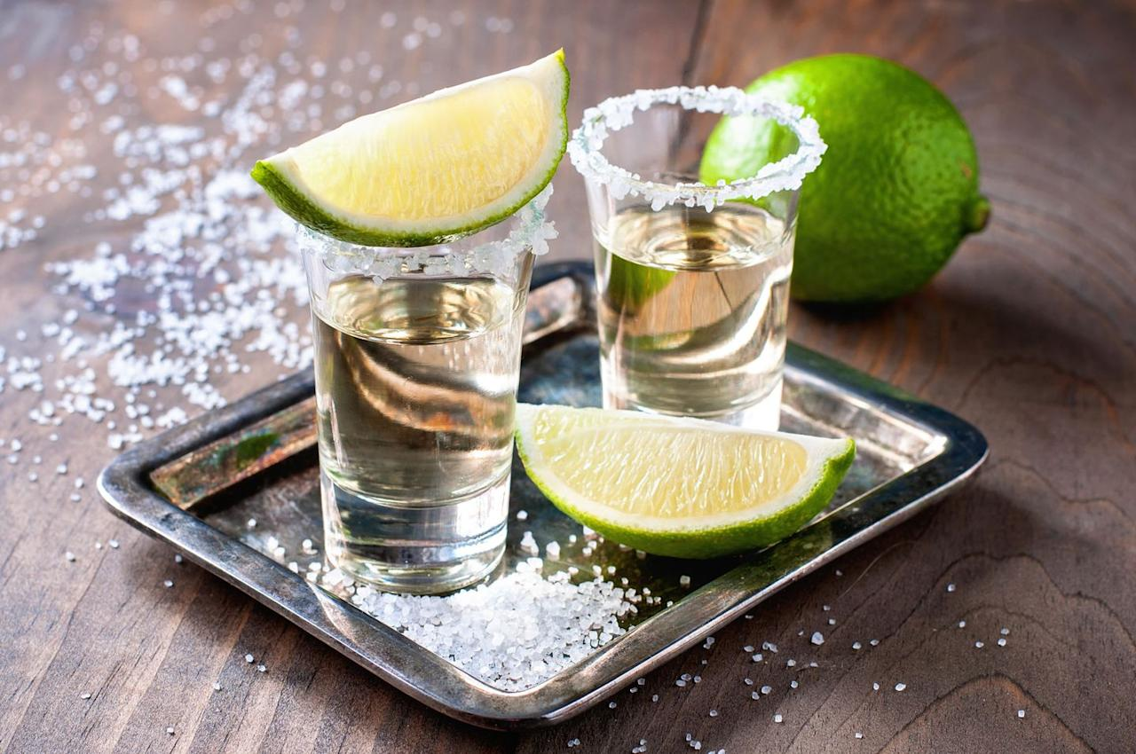 """<p><strong>Calorie count:</strong> Less than 200</p><p>Margaritas feel indulgent for a reason—this standard mixed drink is packed with calories and sugar. """"A margarita can contain anywhere from 160 to 400 calories depending on if it's made with fresh juice or a pre-made syrup—most of the margarita mixes are rich in sugars and calories,"""" says <a href=""""https://spoonfulofyaas.com/"""" target=""""_blank"""">Yasi Ansari</a>, M.S., R.D.N., a dietitian based in Los Angeles, California. </p><p><strong><a href=""""https://www.prevention.com/weight-loss/g20430598/smoothie-causing-weight-gain/"""" target=""""_blank"""">RELATED: 5 Ways Your Smoothie Is Making You Gain Weight</a></strong></p><p>For a lower-calorie take on the Mexican-inspired cocktail, Ansari recommends drinking tequila with a squeeze of fresh lime juice (the lowest calorie option) or a Paloma. """"It blends in juice rather than a syrup, keeping calories under 200,"""" she says. Using fresh juice instead of a sugary mix will also help you drink it more slowly and enjoy the the flavors. To add some calorie-free bubbly to the mix, go for sparkling water or seltzer. </p>"""