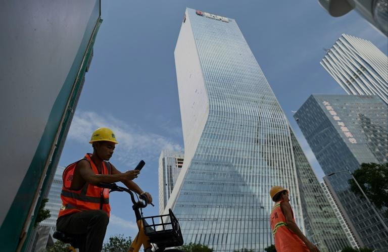 Evergrande was built by founder Xu Jiayin in 1996 and now has a presence in 280 cities (AFP/Noel Celis)