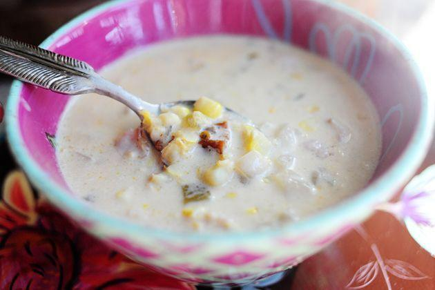 "<p>Make Ree's super cozy corn chowder, perfect for rainy days. Enjoy it with a side of crusty bread.</p><p><a href=""https://www.thepioneerwoman.com/food-cooking/recipes/a9492/corn-chowder-with-chilies/"" rel=""nofollow noopener"" target=""_blank"" data-ylk=""slk:Get Ree's recipe."" class=""link rapid-noclick-resp""><strong>Get Ree's recipe.</strong></a></p><p><a class=""link rapid-noclick-resp"" href=""https://go.redirectingat.com?id=74968X1596630&url=https%3A%2F%2Fwww.walmart.com%2Fsearch%2F%3Fquery%3Ddutch%2Bovens&sref=https%3A%2F%2Fwww.thepioneerwoman.com%2Ffood-cooking%2Fmeals-menus%2Fg35993911%2Fbest-corn-recipes%2F"" rel=""nofollow noopener"" target=""_blank"" data-ylk=""slk:SHOP DUTCH OVENS"">SHOP DUTCH OVENS</a></p>"